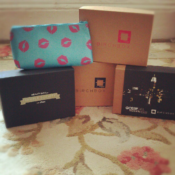 Sample click for details sample boxes subscription boxes containing